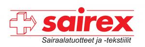 sairex-logo-sairaalatuotteet ja tekstiilit